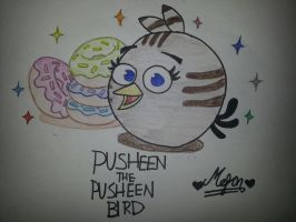 Angry Birds: Pusheen Bird by MeganLovesAngryBirds