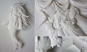 Paper Sculpture by fresh4u