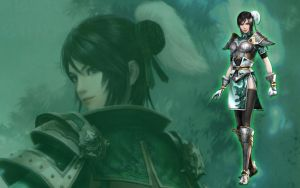 Dynasty Warriors - Xingcai by Axel-Vampire