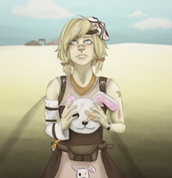 Who touched Mr. Snuggles? [Tiny Tina] by Imagenarium