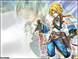 Zidane White Dissidia by LoveLoki