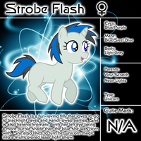 Strobe Flash Bio by LudiculousPegasus