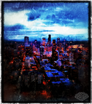 Seattle Nightfall by Between-TheLines