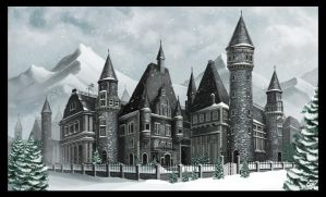 Snow Castle by Majoh