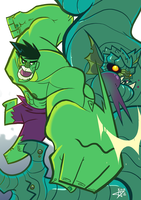 Hulk Smash for a good cause by TerminAitor