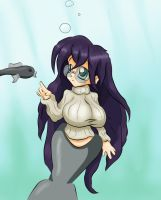 Suicunedude's Manatee Girl by The-Bongmaster