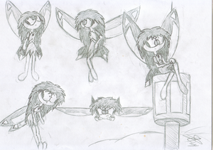 Cyla sketches by TitansEagle