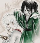 Jiraya and Orochimaru by natka071
