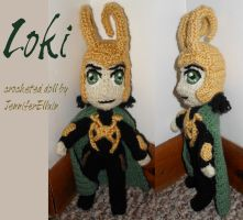 Loki doll by JenniferElluin