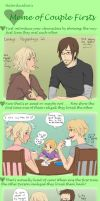 Couple Firsts Meme by ChibiKinesis