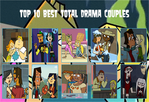 Top 10 Best Total Drama Couples by DaJoestanator