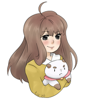 Bee & Puppycat request by madcowCarcass