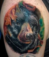 Black Bear Tattoo by DanielPokorny