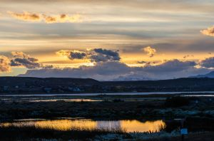 El Calafate - Sunset by ssabbath