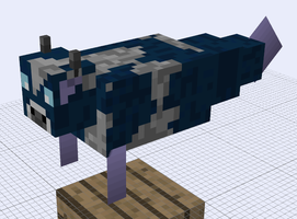 Minecraft Mob Ideas - Sea Cow by RedPanda7