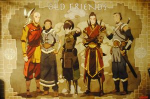 Avatar Old Friends poster by Inu-Josha