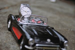 Corvette and Watch by andrephmcr