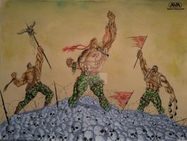 3 Soldiers by AnkushVerma