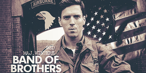 Band of Brothers: Maj. Winters by xFlicker