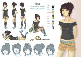 C: Emett Character Sheet by MissPinks