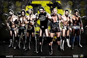 WWE Nexus 2012 Wallpaper by SoulRiderGFX