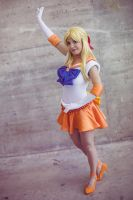 Soldier of love and beauty - Sailor Venus cosplay by Voldiesama