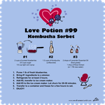 love potion 99# kombucha sorbet recipe by pharynroller360