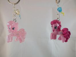 Pinkie Pie and Special Edition Keychains by DeadHeartMare