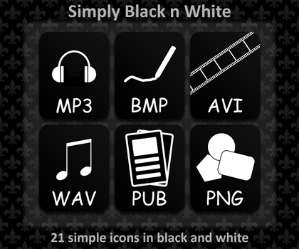 Simply Black n White .png by SLjodal