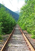Rails to ruin. by fIRSTdESCENT