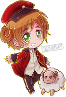 Chibi Series - New Zealand by say0ran