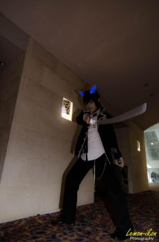 Ao no Exorcist: Rin Okumura Cosplay by VariaK