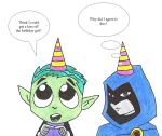 Birthday Beast Boy and Raven by Revenant666