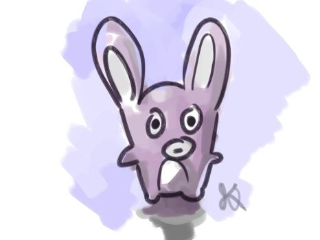 Bunny by minorblues