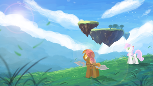 Sweetie and Button Play - Chrono Cross by RePoisn