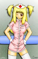nurse Misa lineart - colored by Palatin