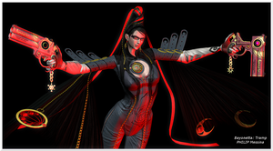 Bayonetta: Tramp by PhilipMessina