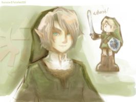 TLoZ. Twilight Princess Link by Littlemoon1502