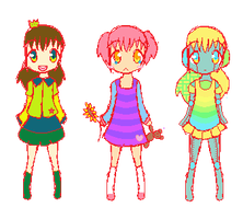 Point Adoptables:Batch 1[CLOSED] by Milk-Bunny-chan