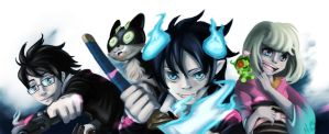 Entry: Ao no Exorcist by Dari-Dari
