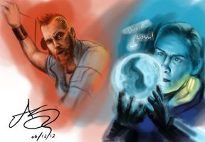 Fifield and David 8 by SHARK-E