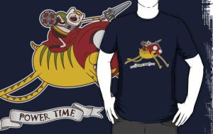Power Time T-shirt by maiconmcn
