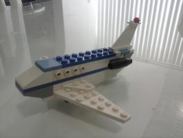 lego private jet by 4ellyK