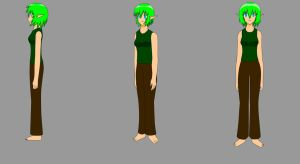 Saria Character Models by ScootWHOOKOS