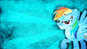 Rainbow Rage - Rainbow Dash Wallpaper by Amoagtasaloquendo