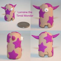 Lorraine the Timid Monster by TimidMonsters
