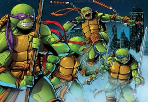Tmnt Collaboration: Oezgen and Rullo by shiprock