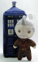 The War Doctor 3D Cross Stitch Doll by rhaben