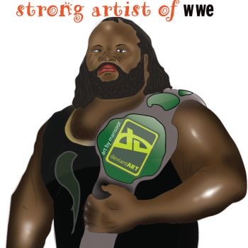 Mark Henry by mansoor112