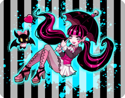 Monster High - Draculaura by out69